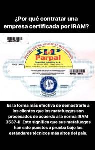 ¿Por qué contratar una empresa certificada por IRAM?