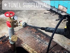 Prueba Hidráulica cañería Red Incendio – Túnel Subfluvial